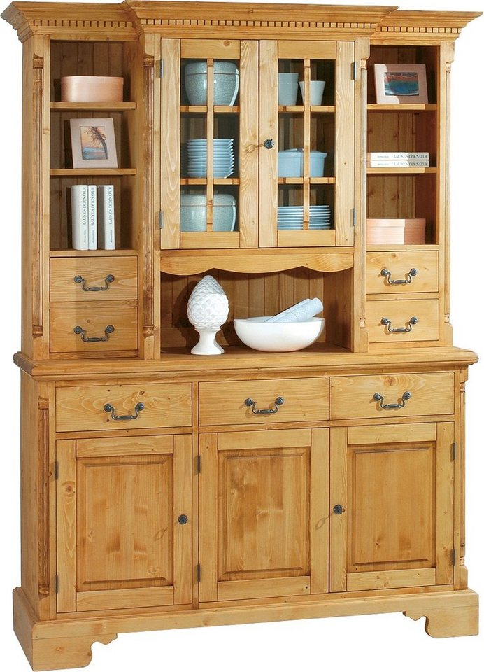 Premium collection by Home affaire Buffet »Oxford«, Höhe 205 cm in honigfarben antik