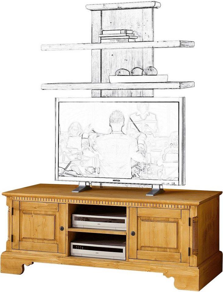 Premium collection by Home affaire TV-Tisch »Oxford«, Breite 152 cm in honigfarben