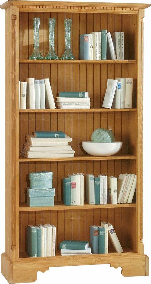 Premium collection by Home affaire Bücherregal »Oxford«, Höhe 196 cm in honigfarben