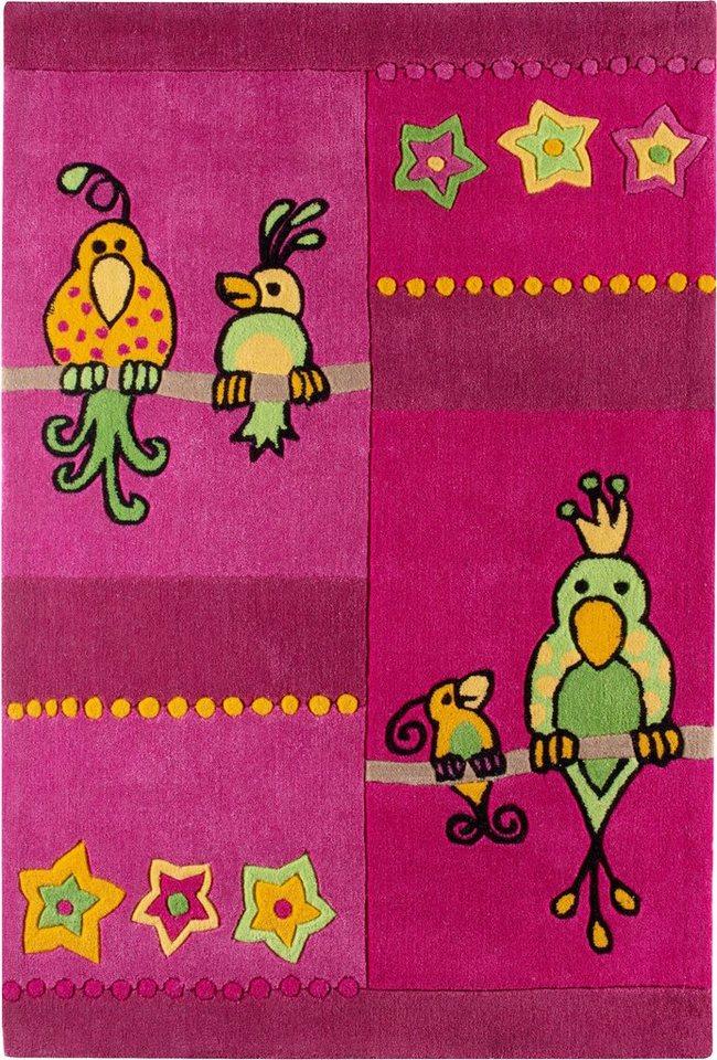 Kinder-Teppich, Andiamo, »Kakadu« in pink
