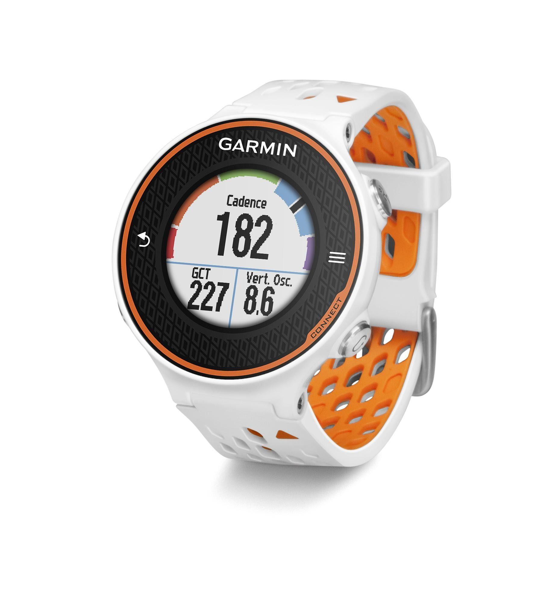 Garmin Sportuhr »Forerunner 620 white/orange«