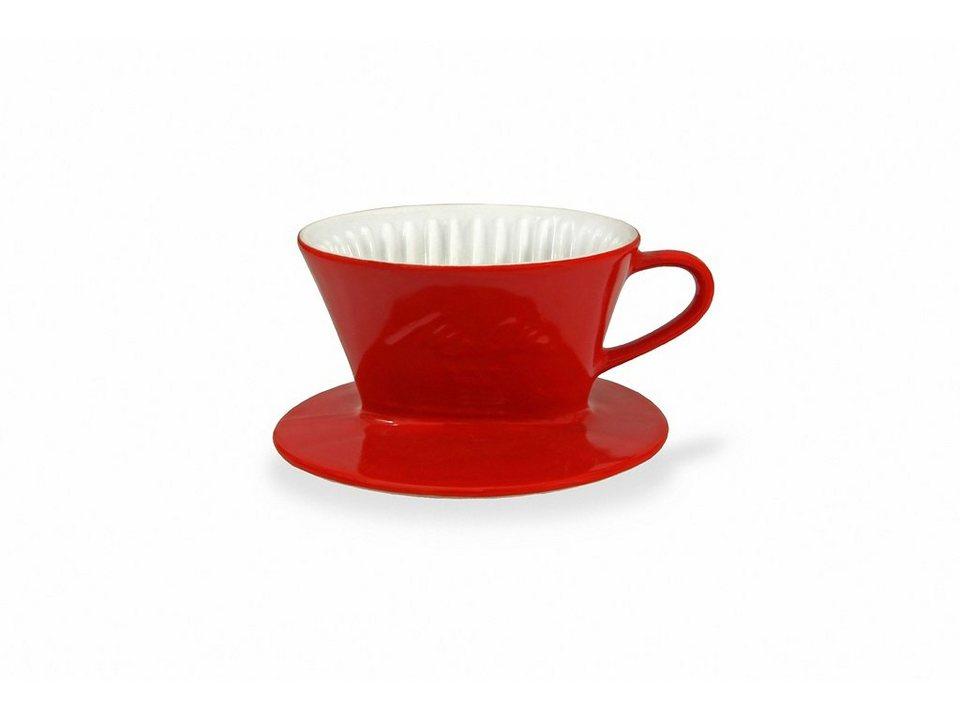 Friesland Kaffeefilter »Kannen & Kaffeefilter, 100« in rot