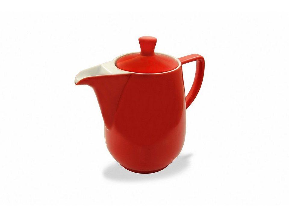 Friesland Kaffeekanne »Kannen & Kaffeefilter, 0,60l« in rot