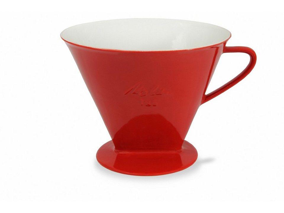 Friesland Kaffeefilter »Kannen & Kaffeefilter, 1x6« in rot