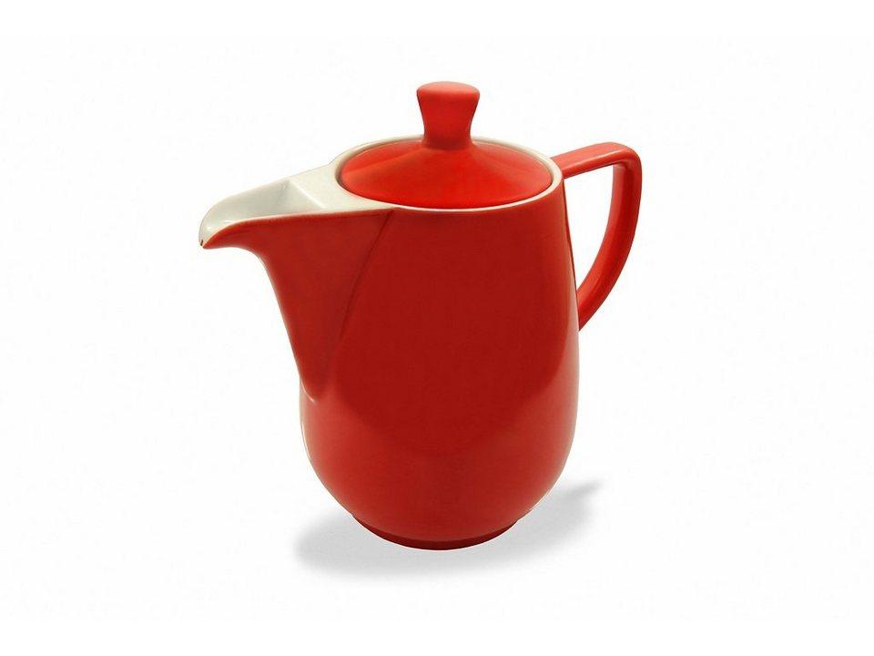 Friesland Kaffeekanne »Kannen & Kaffeefilter, 0,9l« in rot