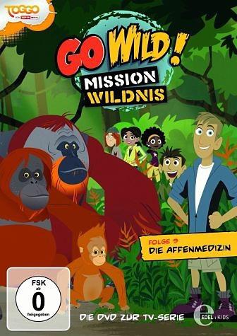 DVD »Go Wild! Mission Wildnis - Folge 9: Die...«