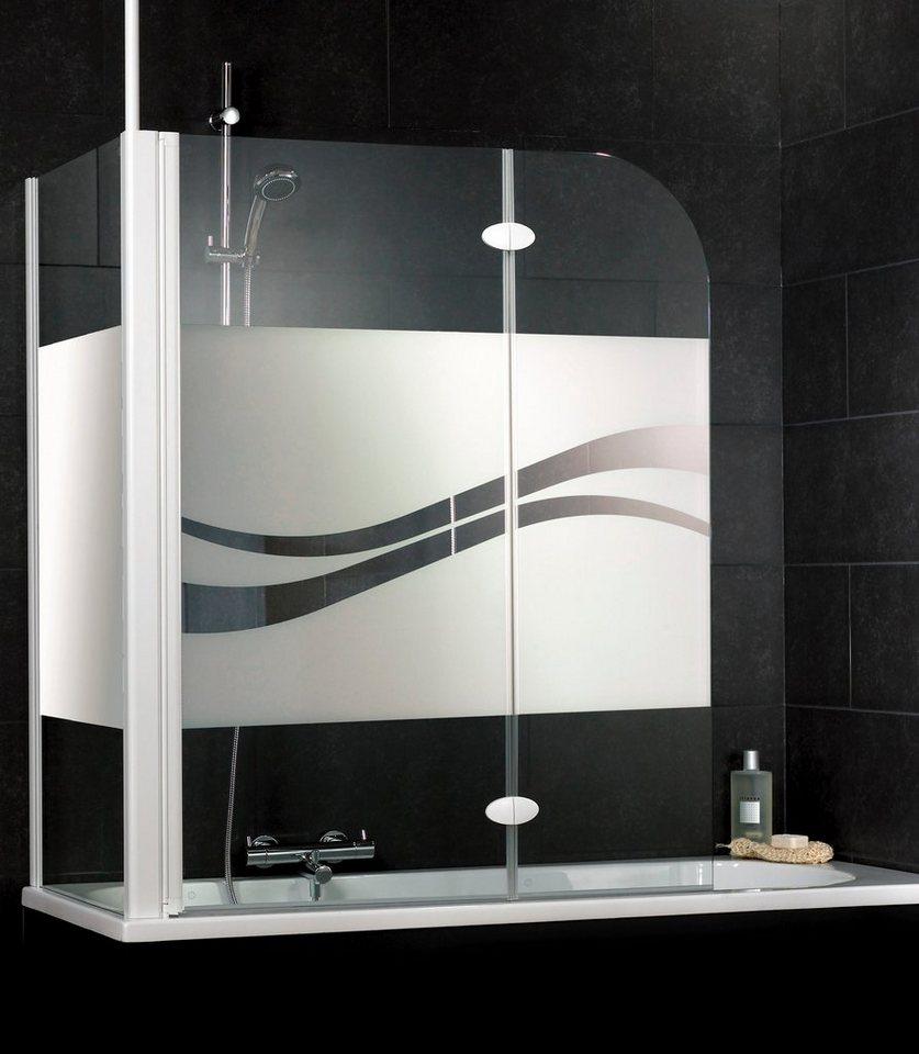 Set: Badewannenaufsatz »Liane« in weiß