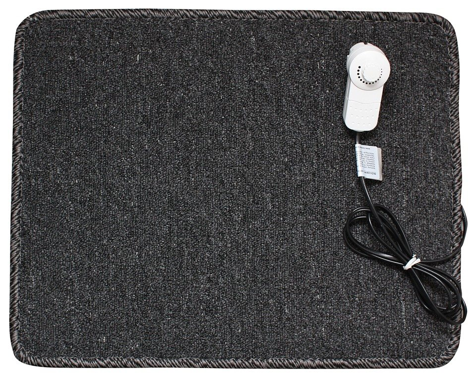 Infrarotheizteppich »70 Watt« in schwarz