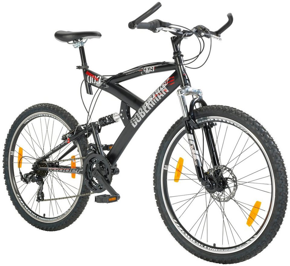 Fully-Mountainbike »66,04 cm (26 Zoll)« in schwarz