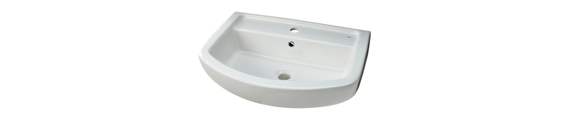 Keramik Waschtisch / Waschbecken »Ondo« 60 cm
