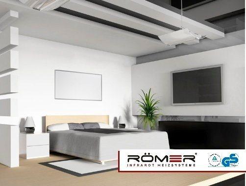 Infrarotheizung »Heizplatte 60 x 120 850 Watt« in weiß