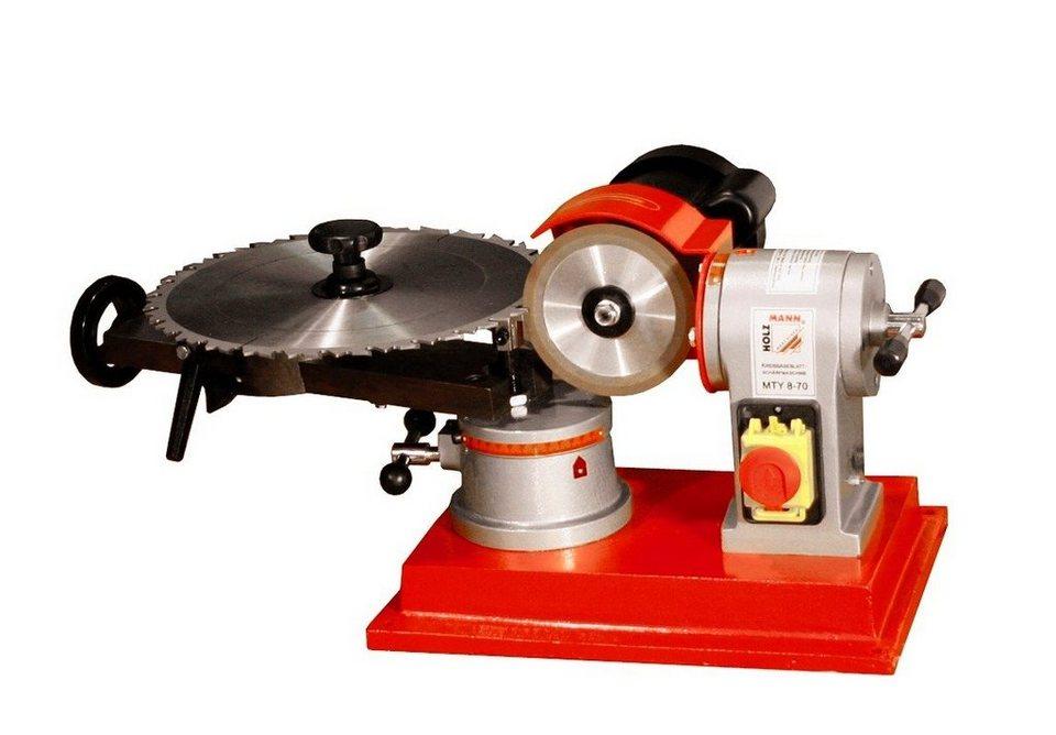 Holzmann-Maschinen Kreissägeblattschärfgerät »MTY 8-70« in rot