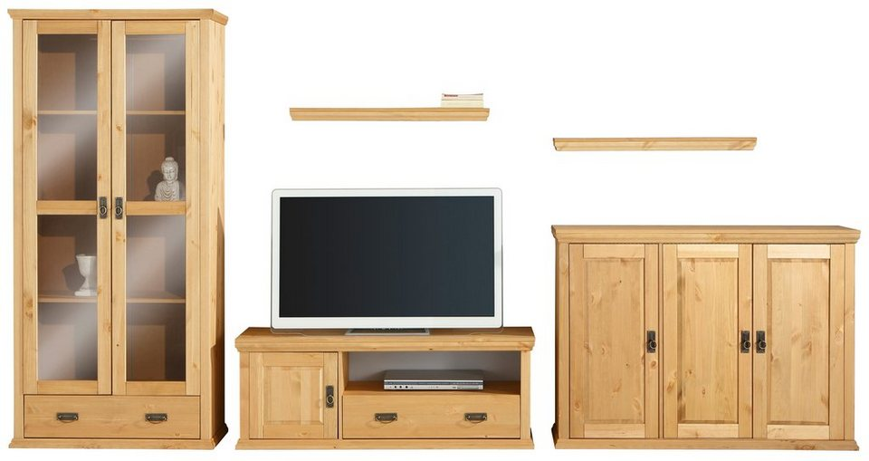 home affaire wohnwand 5 tlg online kaufen otto. Black Bedroom Furniture Sets. Home Design Ideas