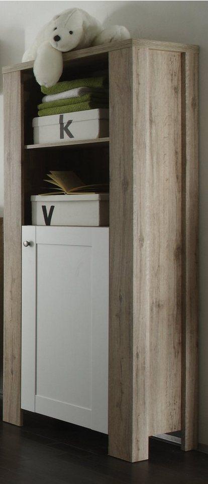 beistellschrank lupo in sanremo hell wei matt otto. Black Bedroom Furniture Sets. Home Design Ideas