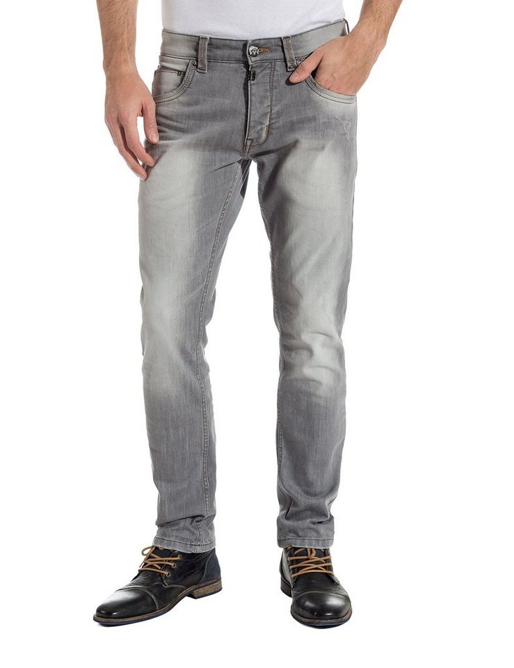 """TIMEZONE Jeans »EdoTZ """"3781 smoky wash""""« in smoky wash"""