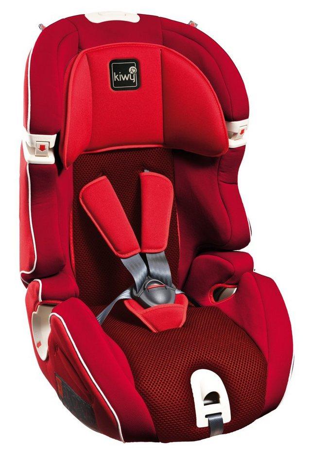 Kindersitz »S123«, 9 - 36 kg, als Booster umbaubar in rot