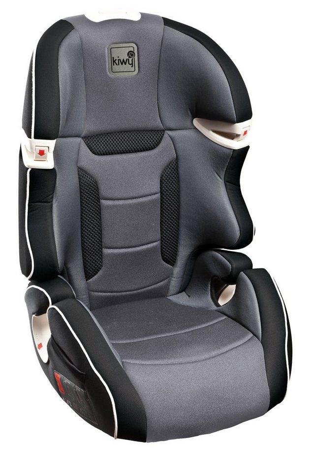 Kindersitz »Kiwy S23«, 15 - 36 kg, als Booster umbaubar in schwarz