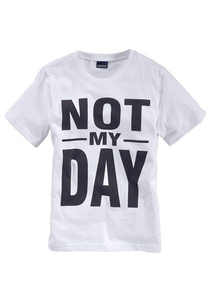arizona t shirt mit druck not my day kaufen otto. Black Bedroom Furniture Sets. Home Design Ideas