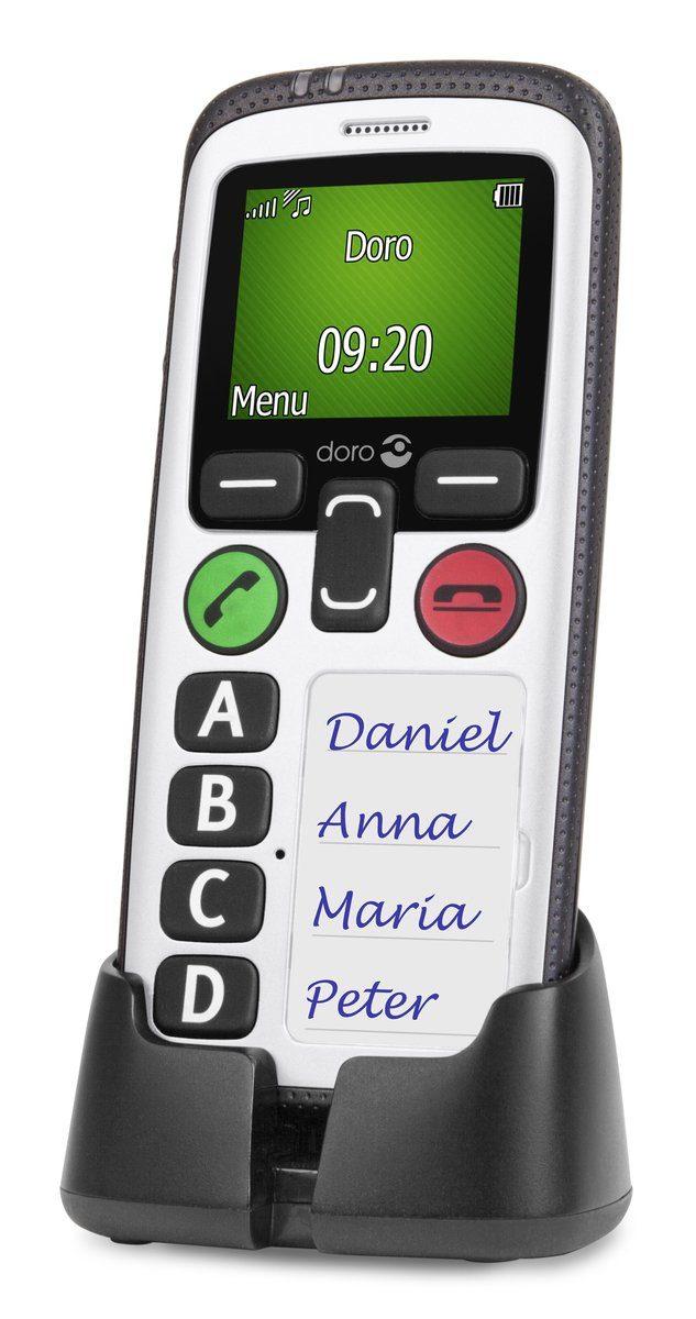 Doro Handy »Secure 580, Schwarz-Weiß«