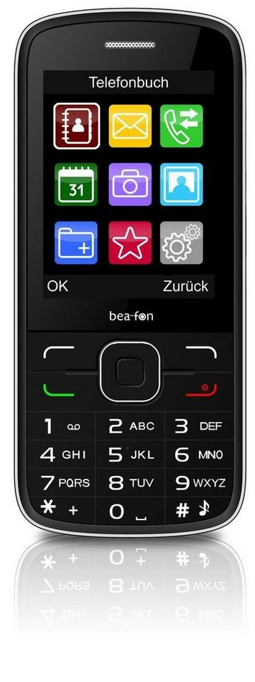 Beafon Handy »C150 (schwarz)« in Schwarz