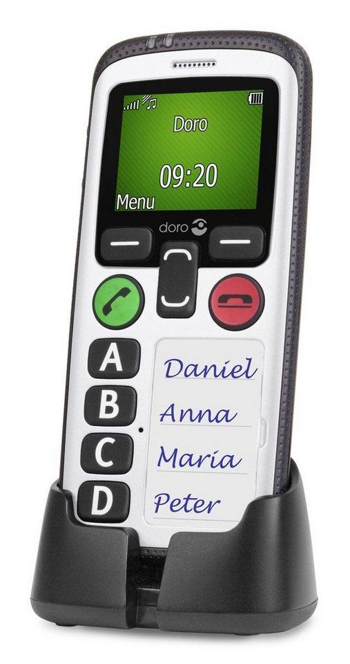 Doro Handy »Secure 580IUP, Schwarz-Weiß« in Weiß