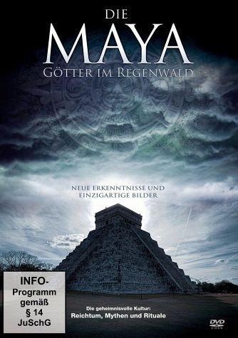 DVD »Die Maya - Götter im Regenwald«
