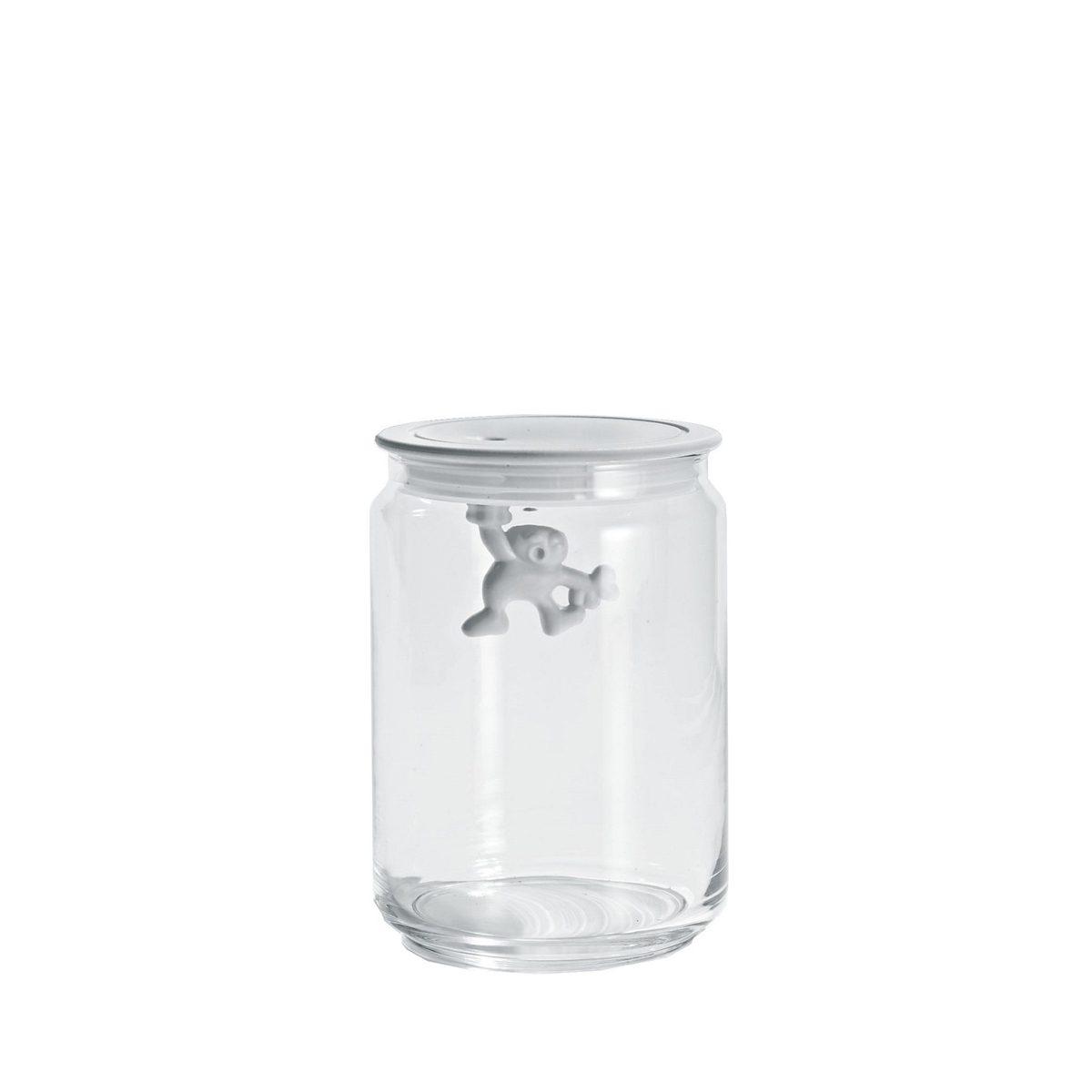 Alessi Alessi GIANNI Küchendose aus Glas weiß 0.9L