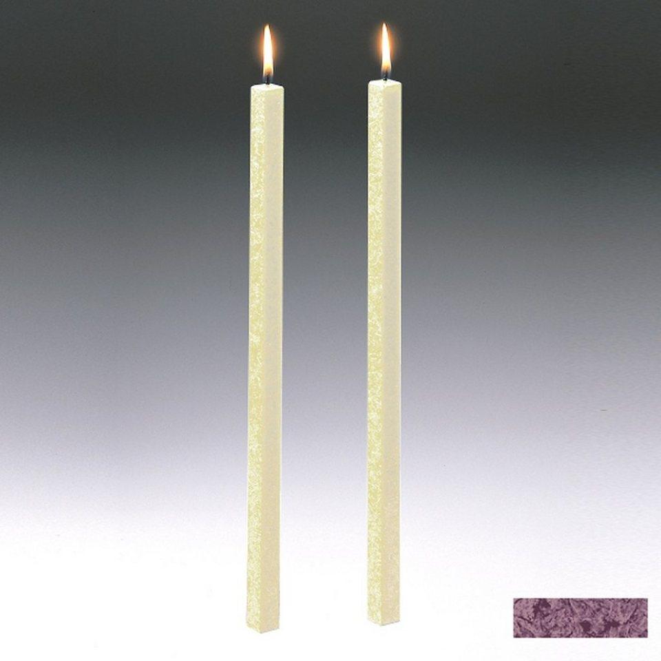 Amabiente Amabiente Kerze CLASSIC Burgund 40cm - 2er Set in burgund