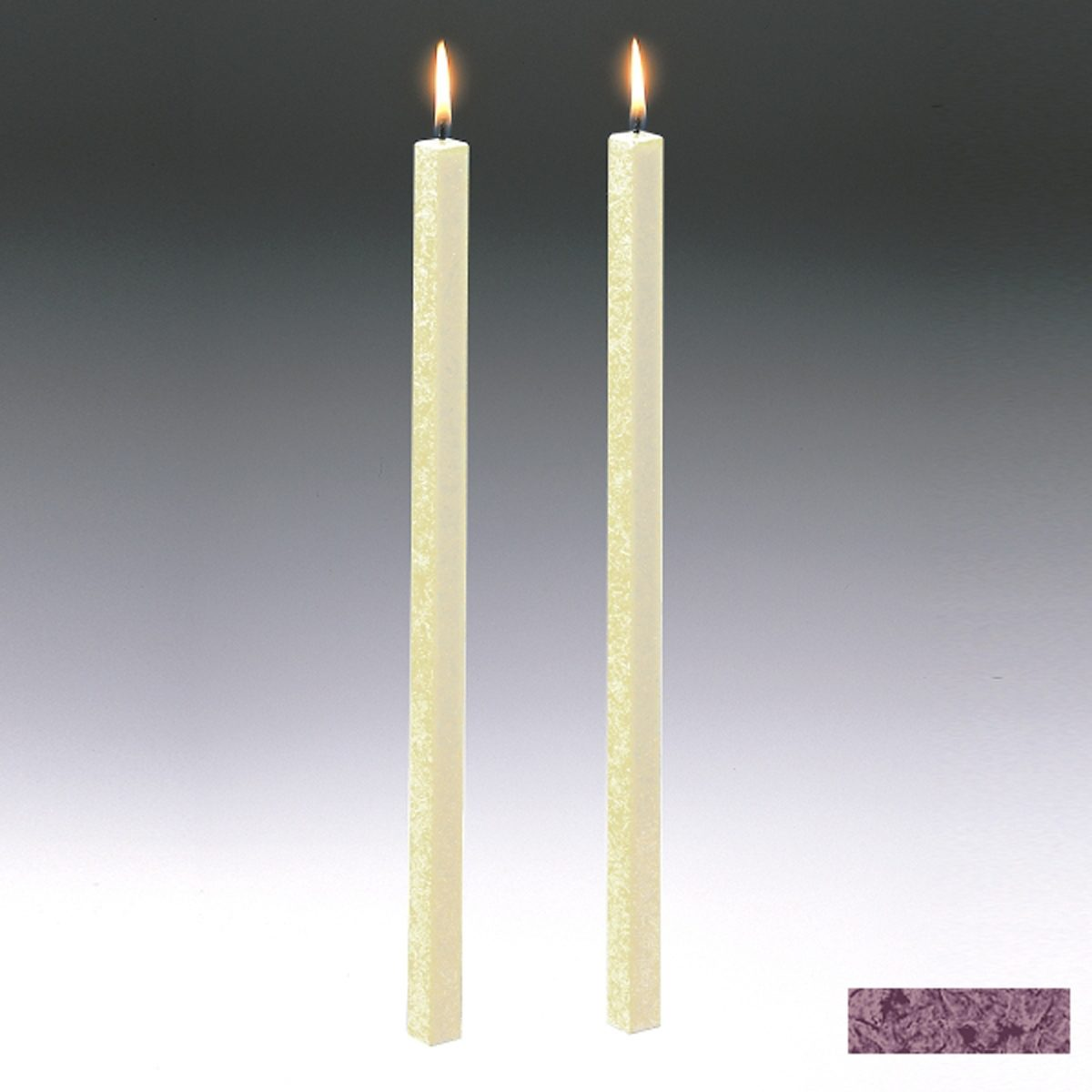 Amabiente Amabiente Kerze CLASSIC Burgund 40cm - 2er Set