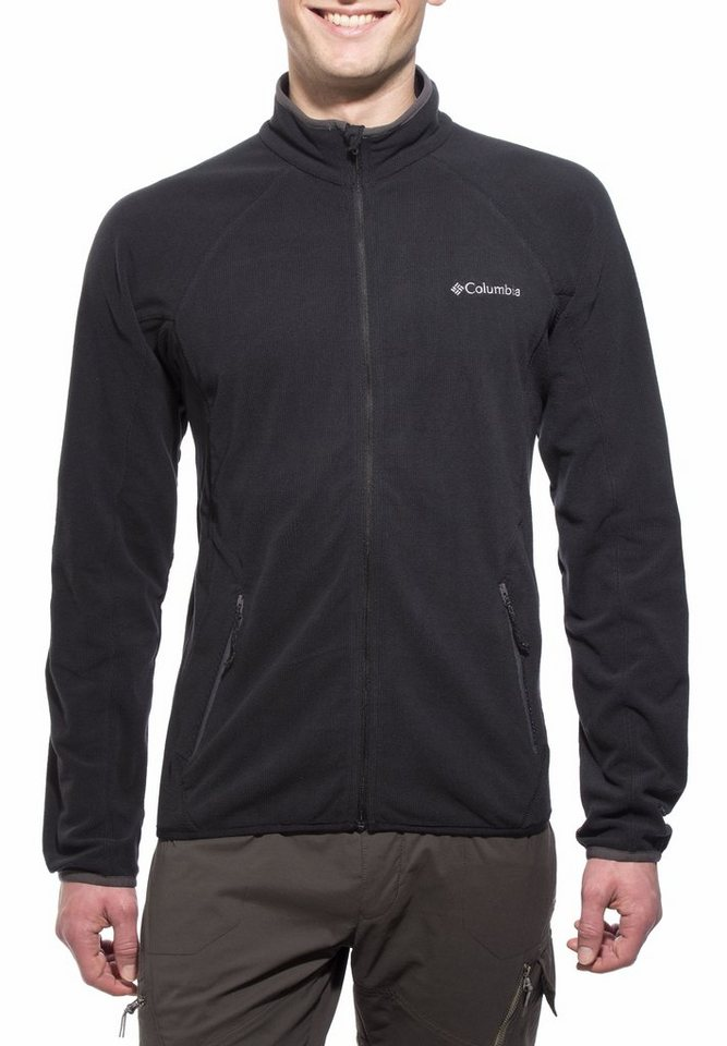 Columbia Outdoorjacke »Summit Rush Full Zip Men black« in schwarz
