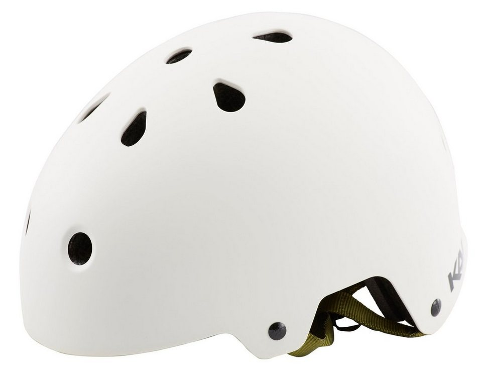 Kali Fahrradhelm »Maha Solid Helm white« in weiß