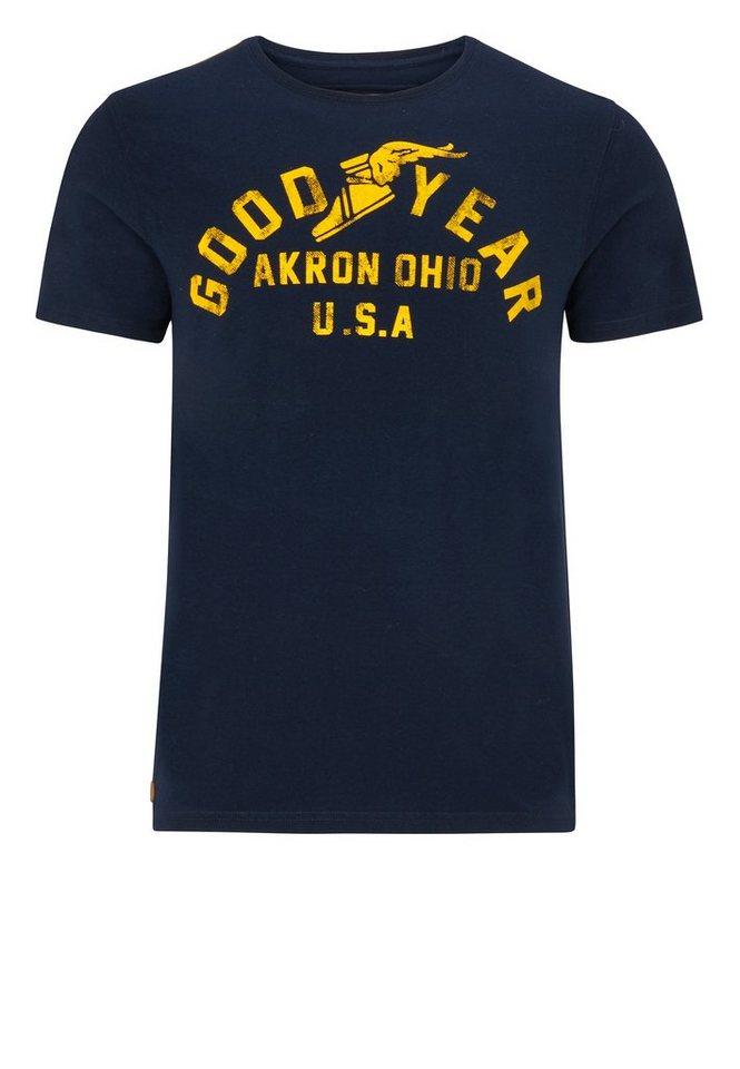 Goodyear T-Shirt in Dark Navy