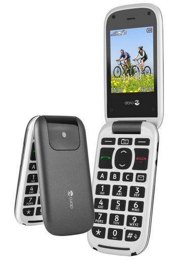 Doro Handy »PhoneEasy 613, Graphit-Weiß«