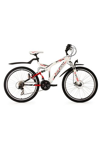 KS CYCLING Kalnų dviratis »Zodiac« 21 Gang Shiman...