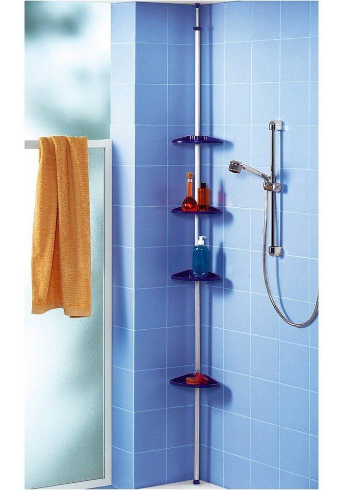 Duschablage in blau