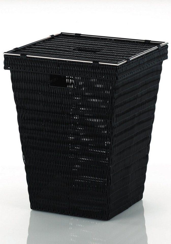 Wäschesammler »Noblesse« in schwarz