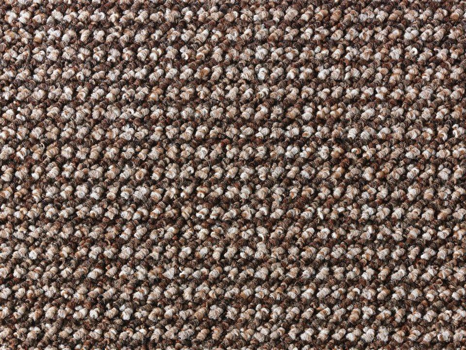 Teppichboden »Leon«, Breite 400 cm in braun