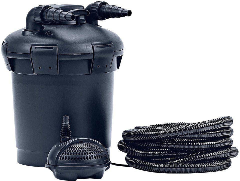 Set: Teichfilter »PondoPress 15.000« in schwarz