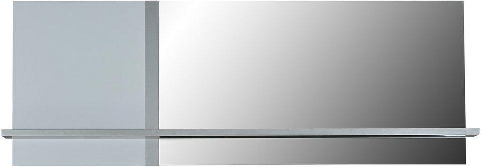 Wandspiegel, S.C.I.A.E., »Cross« in weiß/titanfarben