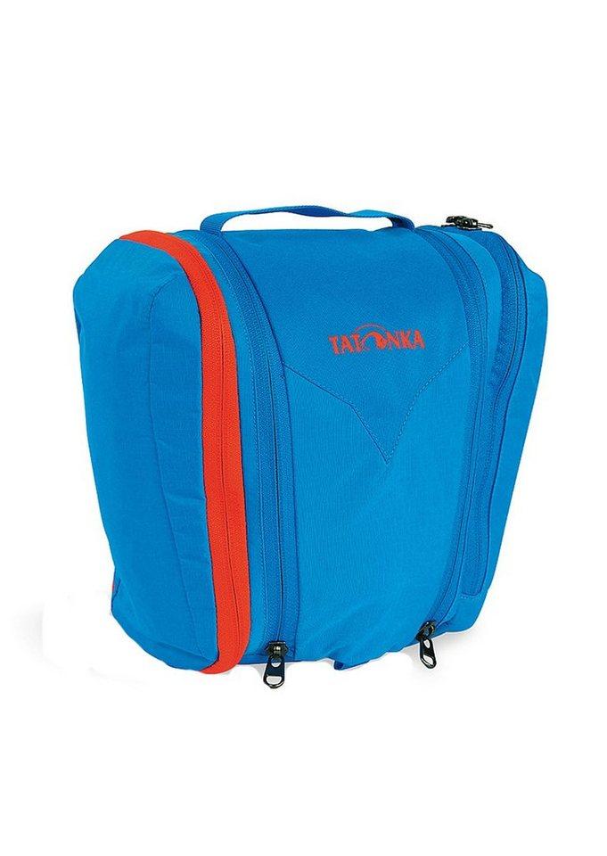Kulturtasche zum Aufhängen, »One Month«, TATONKA® in bright blue