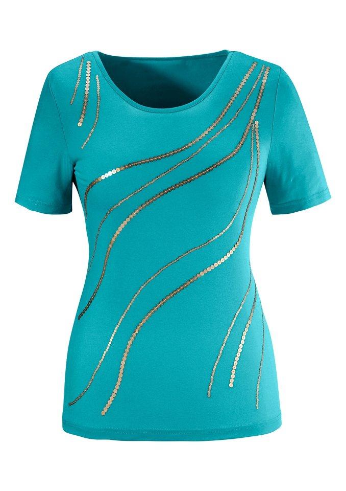 Lady Shirt in geschmeidiger Viskose-Stretch-Qualität in türkis