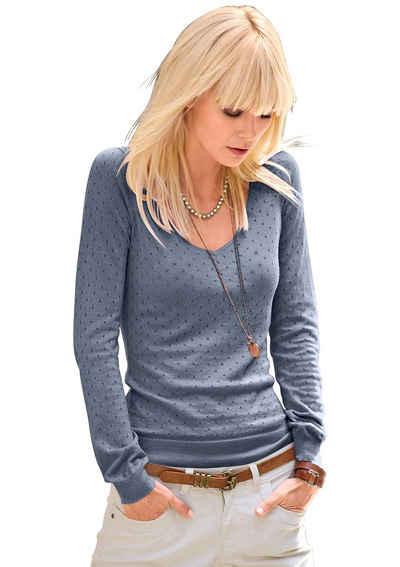 Classic Inspirationen Pullover in weichem und wunderbar geschmeidigem Feinstrick