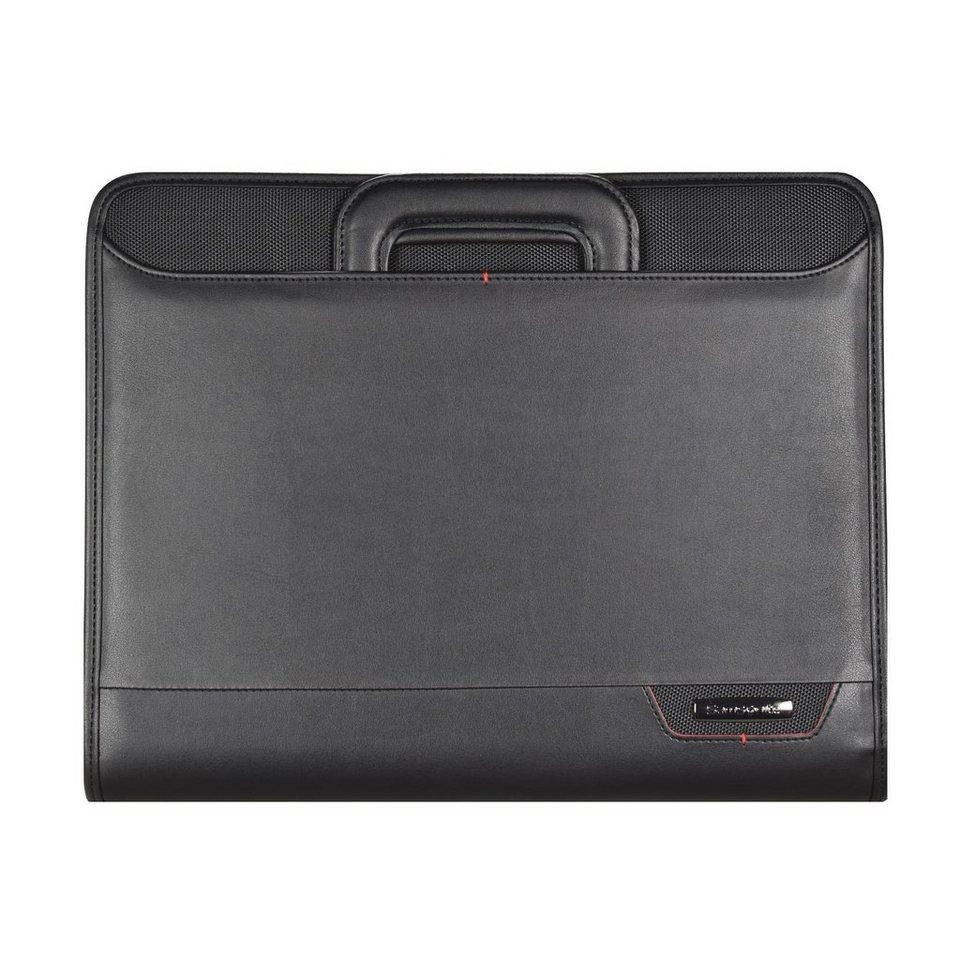 Samsonite Stationery Pro-DLX4 Schreibmappe 29 cm in black