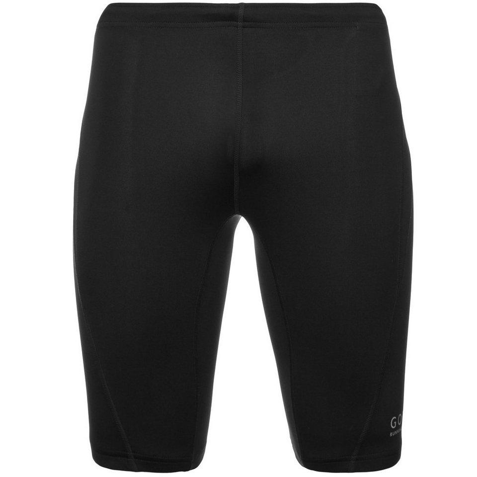 GORE Essential Short Lauftight Herren in schwarz