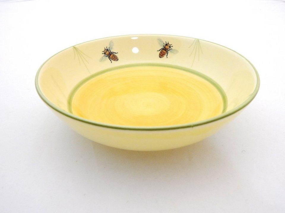 Zeller Keramik Müslischale »Biene« in Mehrfarbig