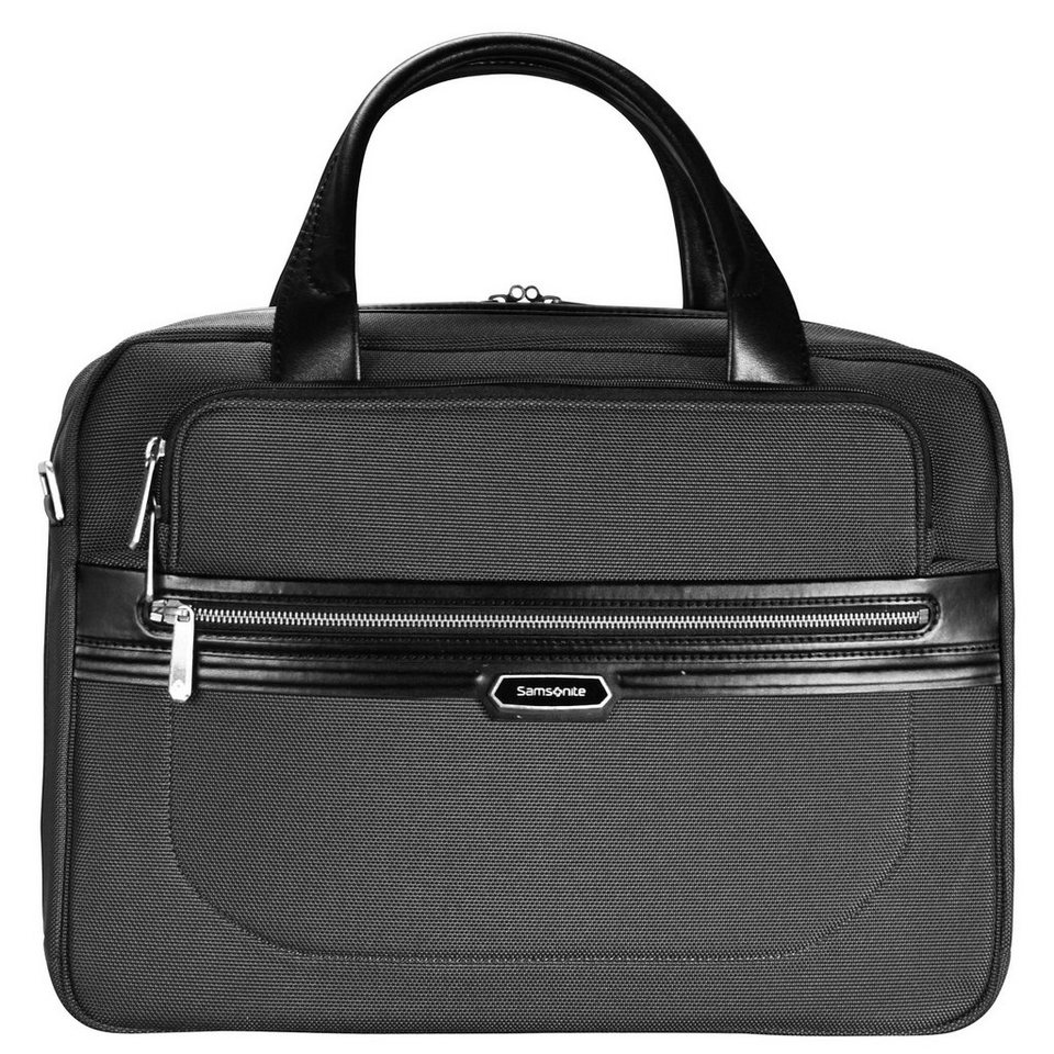 Samsonite Samsonite Integra Businesstasche 45 cm Laptopfach in black-black