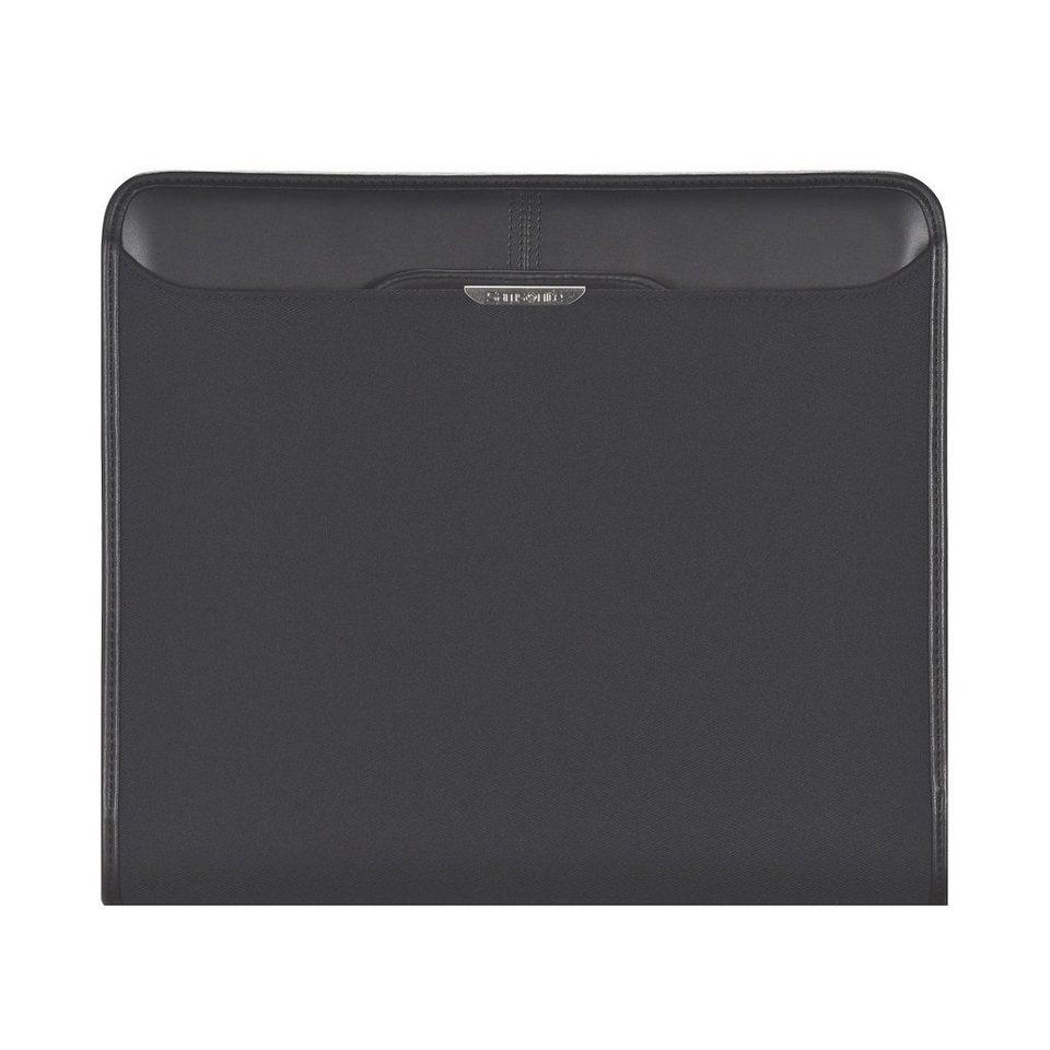 Samsonite Stationery Sidaho Schreibmappe Leder 29 cm in black