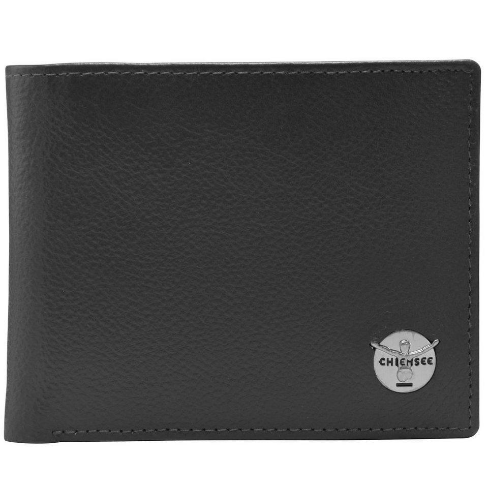 Chiemsee Classic Geldbörse Leder 12,6 cm in schwarz
