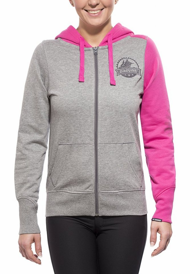 Bikeunit Pullover »Crew Hoody Lady« in grau