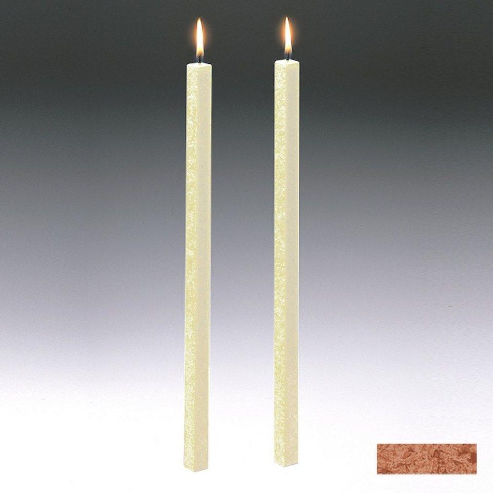 Amabiente Amabiente Kerze CLASSIC Kastanie 40cm - 2er Set in kastanie